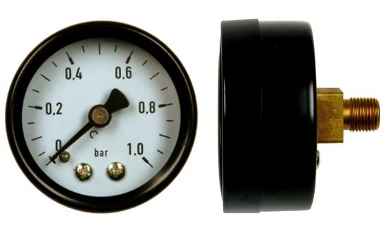 nyomásmérő órák kalibrálása